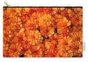 Orange Mums Carry-all Pouch