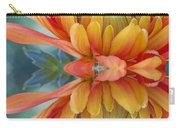 Orange Mum's Watery Reflection Carry-all Pouch