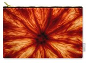 Orange On Fire Carry-all Pouch