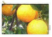 Orange On Tree Carry-all Pouch