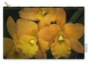 Orange Orchid Group Carry-all Pouch