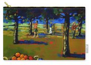 Orange Picking Carry-all Pouch