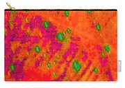 Orange Purple Tapestry Abstract Carry-all Pouch