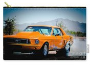 Orange Racing Mustang Carry-all Pouch