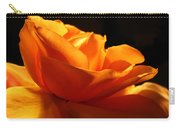 Orange Rose Glowing In The Night Carry-all Pouch