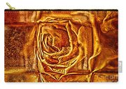 Orange Rose Carry-all Pouch