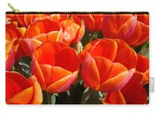Orange Spring Tulip Flowers Art Prints Carry-all Pouch