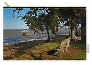 Orange Street Pier Bench Carry-all Pouch