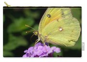 Orange Sulphur Carry-all Pouch