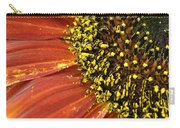 Orange Sunflower Close Up Carry-all Pouch