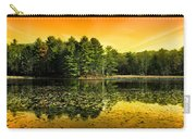 Orange Sunrise Reflection Landscape Carry-all Pouch