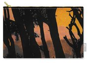 Orange Sunset Forest Carry-all Pouch