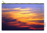 Orange Sunset Sky Carry-all Pouch