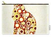 Orange Tabby - Animal Art Carry-all Pouch