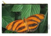 Orange Tiger Butterfly Or Banded Orange Carry-all Pouch