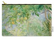 Orange Tree Branches Carry-all Pouch