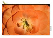 Orange Tuberous Begonia Carry-all Pouch