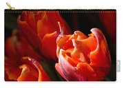 Orange Tulips Glowing Carry-all Pouch