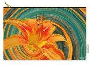 Orange Twist Daylily Photoart Carry-all Pouch
