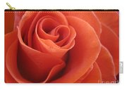 Orange Twist Rose 3 Carry-all Pouch