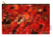 Orange Under Glass Abstract Carry-all Pouch