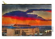 Orange Upon The Art Museum Carry-all Pouch