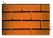 Orange Wall Carry-all Pouch by Semmick Photo