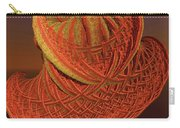 Orange Weave Carry-all Pouch