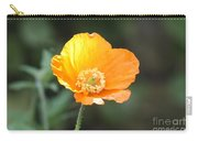 Orange Welsh Poppy Carry-all Pouch