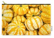 Orange Winter Squash On Display Carry-all Pouch