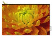 Orange Yellow Mum Carry-all Pouch