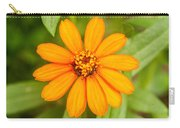 Orange Zenia Carry-all Pouch