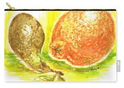 Oranges And Pears Carry-all Pouch