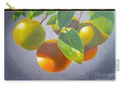 Oranges Carry-all Pouch by Carey Chen