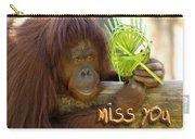 Orangutan Female Carry-all Pouch