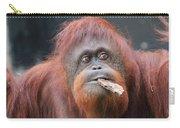 Orangutan Portrait Carry-all Pouch