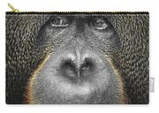 Orangutan Carry-all Pouch by Svetlana Sewell