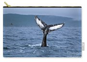 Orca Bitemarks On Humpback Tail Carry-all Pouch