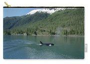 Orca Female Inside Passage Alaska Carry-all Pouch