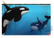 Orca Killer Whales Carry-all Pouch