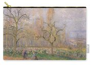 Orchard At Pontoise Carry-all Pouch by Camille Pissarro