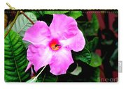 Orchard Colored Mandevilla Carry-all Pouch