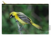 Orchard Oriole Icterus Spurius Juvenile Carry-all Pouch