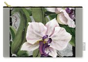 Orchid A - Phalaenopsis Carry-all Pouch