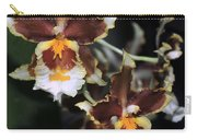 Orchid Brown Yellow White Macro Carry-all Pouch