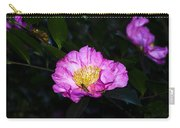 Orchid Camellia Pink - Camellia Sasanqua Carry-all Pouch