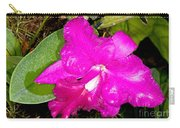 Orchid Cattleya Carry-all Pouch