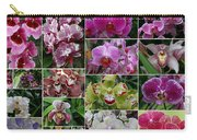 Orchid Collage 1 Carry-all Pouch