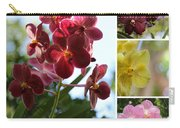 Orchid Collage Carry-all Pouch