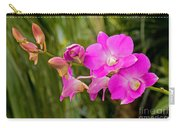 Orchid Dendrobium Carry-all Pouch